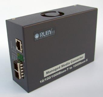 Conversor de medio Gigabit Ethernet