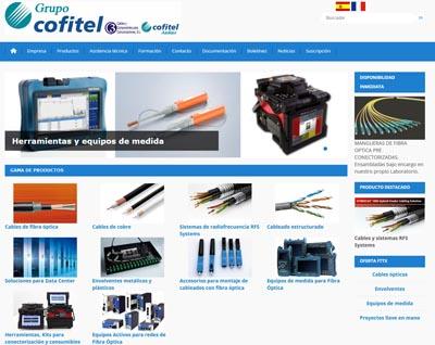 COFITEL presenta la página web del cableado de cobre y fibra óptica