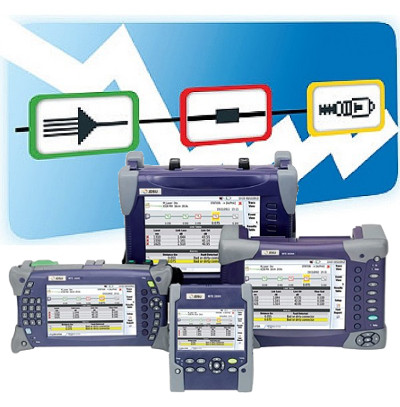 SLM - Smart Link Mapper- Software OTDR T-BERD® de JDSU