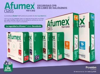 Cables Afumex class para instalaciones receptoras
