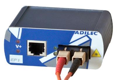 Conversores de medio Fast Ethernet para instalaciones en exteriores