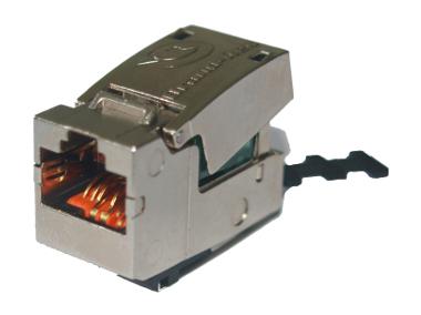 Conectores apantallados sin herramientas Categoría 6A