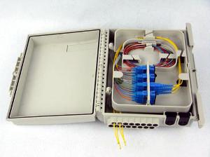 Caja de distribución IP 65 para 16 fibras ref. GXF6-15N6S