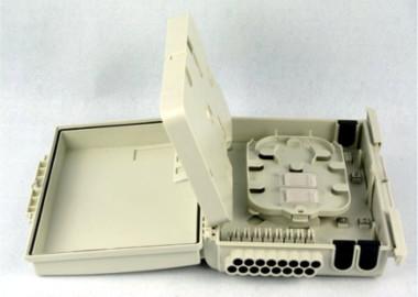 Caja de distribución IP65 para dieciséis fibras