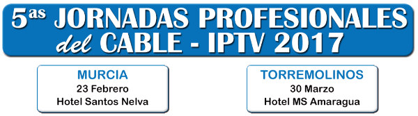 Quintas Jornadas Profesionales IPTV 2017