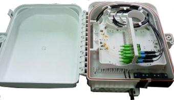 Cajas murales IP65 para splitter y distribución con hasta veinticuatro salidas