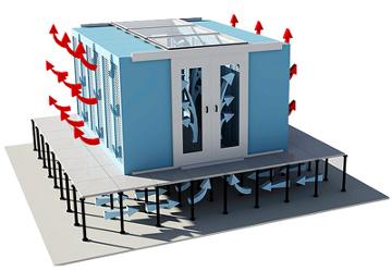 Sistema de cerramiento modular adaptable