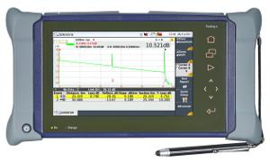 """Plataforma """"todo en uno"""" para realizar test de redes de fibra óptica"""