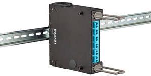 Envolventes para conectividad de red sobre carril DIN