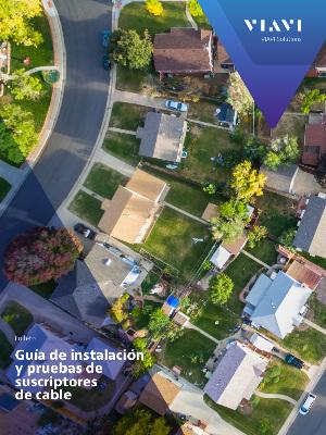Soluciones para el mantenimiento, la certificación y la monitorización de redes de fibra óptica
