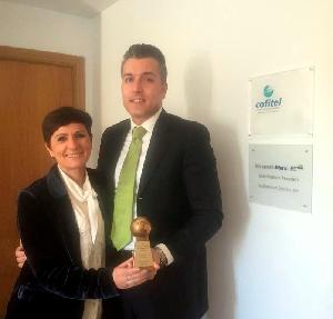 El Grupo COFITEL recibe el premio Outstanding Performance Award de Leviton