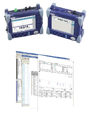 Soluciones VIAVI para la medida de PMD/CD/AP