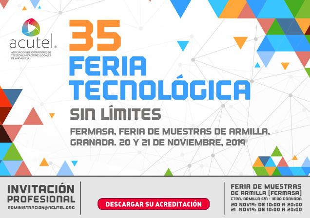 35 feria tecnológica ACUTEL 2019