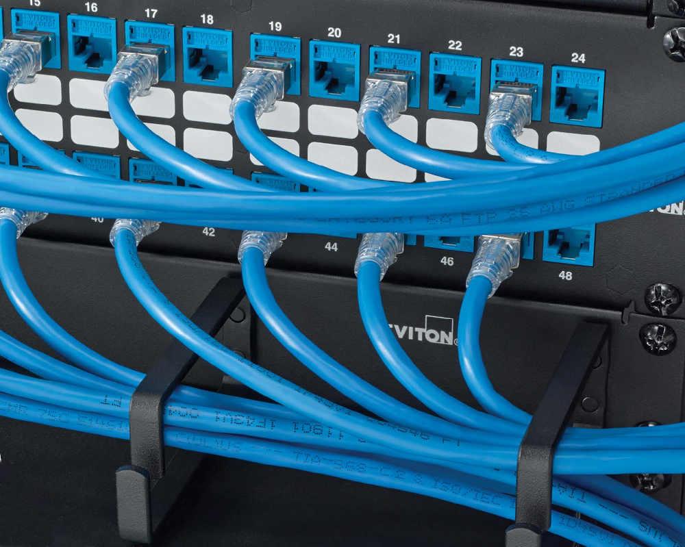 Cables de cobre Cat 6 U/UTP 24 AWG