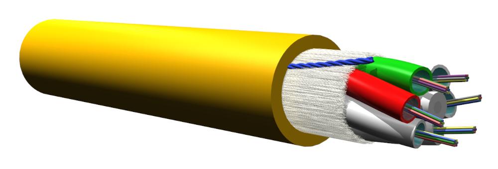 Cables de fibra óptica con reacción al fuego B2ca