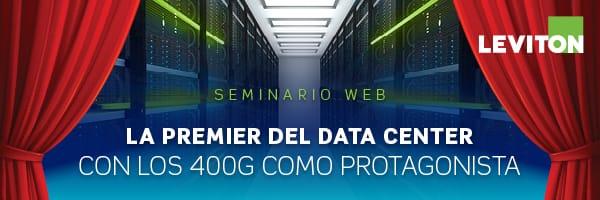 Invitación seminario Data Center 400G en castellano